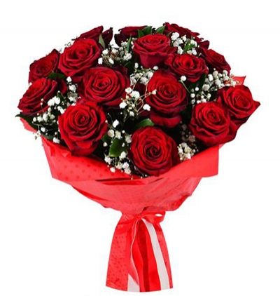 7 red roses bouquet 15 red roses bouquet