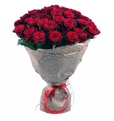 11 red roses and teddy 35 Red Roses Bouquet