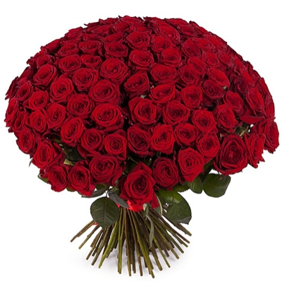 101 rote Rose Bouquet