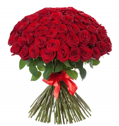 7 red roses bouquet 71 Red Roses Bouquet