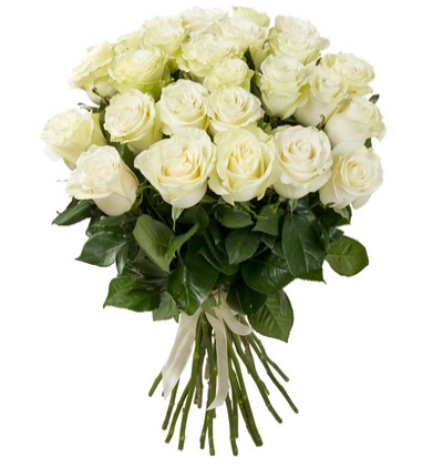 bouquet of phalanopsis 25 white roses bouquet