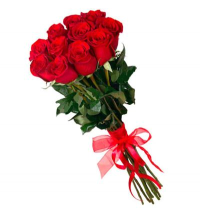 turkey flower delivery 11 Red Roses Bouquet